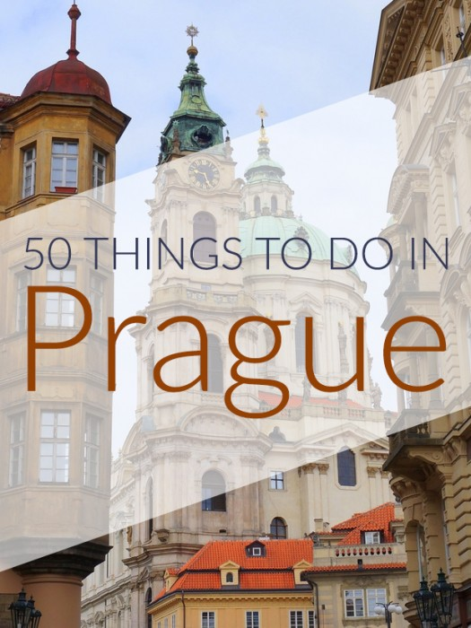 Prague 50 things to do